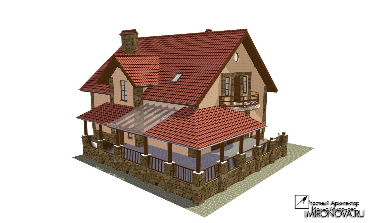 дом баня генеральская проект